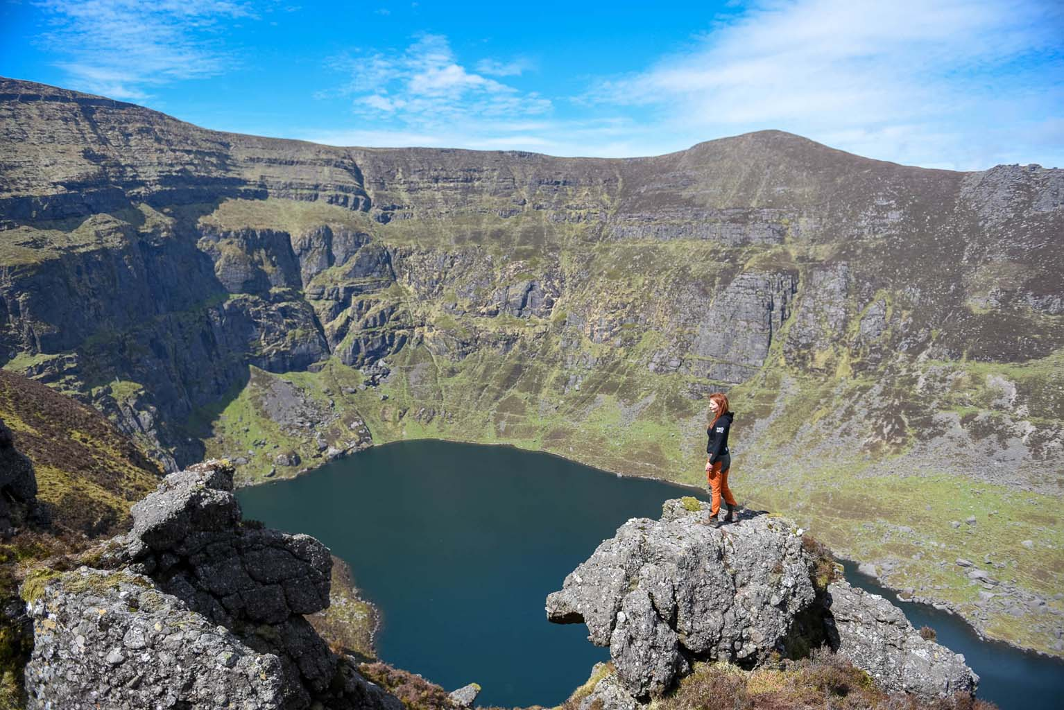 Coumshingaun Lake Hike. Waterford, Ireland